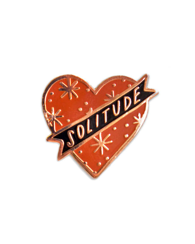 Solitude Heart Pin-Stay Home Club-Strange Ways