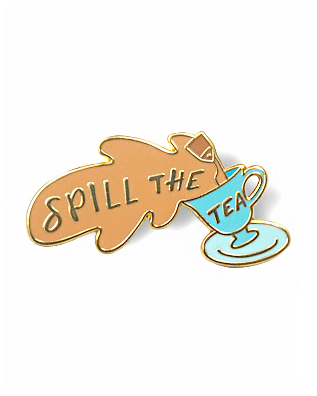 Spill The Tea Pin-GAYPIN'-Strange Ways