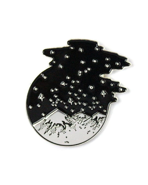 Starry Mountains Pin-Strike Gently Co.-Strange Ways