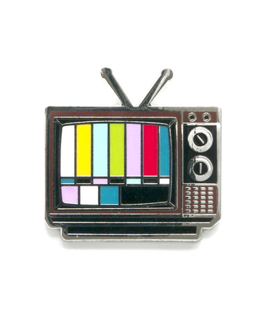 Television Color Bars Pin
