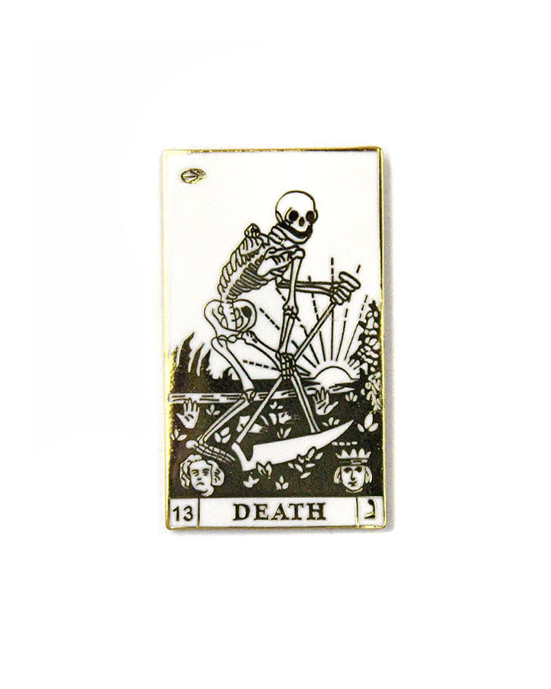 The Death Tarot Card Pin-Strike Gently Co.-Strange Ways