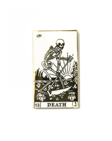 The Death Tarot Card Pin
