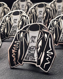 Tom Of Finland Leather Jacket Pin-GAYPIN'-Strange Ways