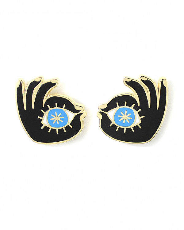Eye See You Pin Set-Danny Brito-Strange Ways