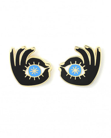 Eye See You Pin Set