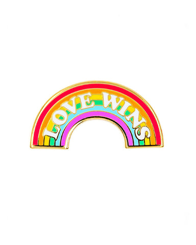 Love Wins Rainbow Pride Pin