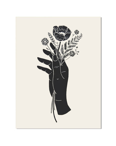 Botanical Hand Art Print