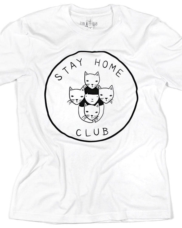 Stay Home Club Unisex Tee-Stay Home Club-Strange Ways