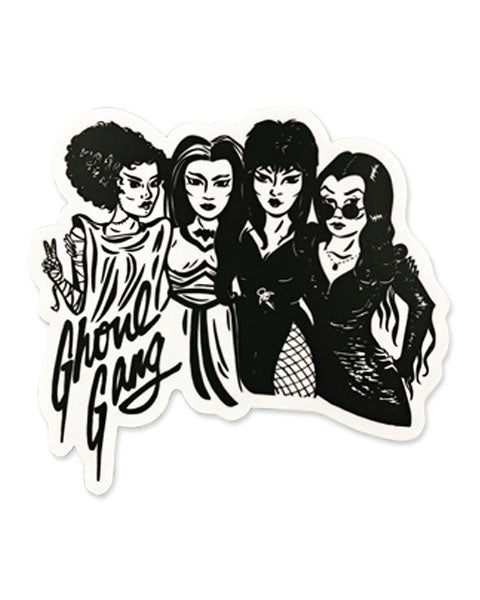 Ghoul Gang Sticker-Culture Flock-Strange Ways
