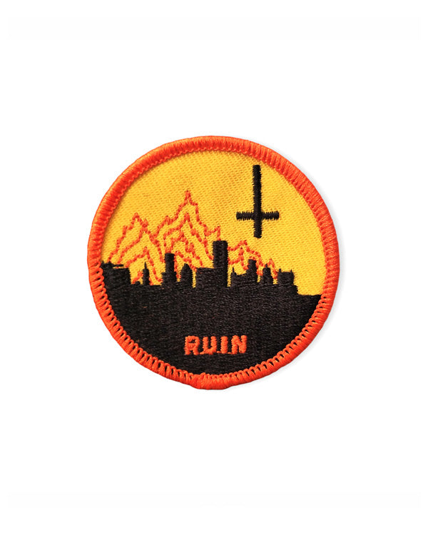 Ruin Mini Patch-Hungry Ghost Press-Strange Ways