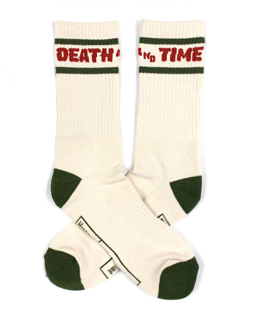 Death And Time Socks-Hungry Ghost Press-Strange Ways