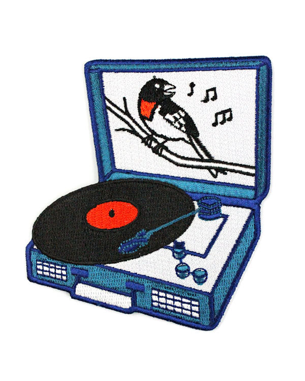 Songbird Record Player Patch-Quiet Tide Goods-Strange Ways