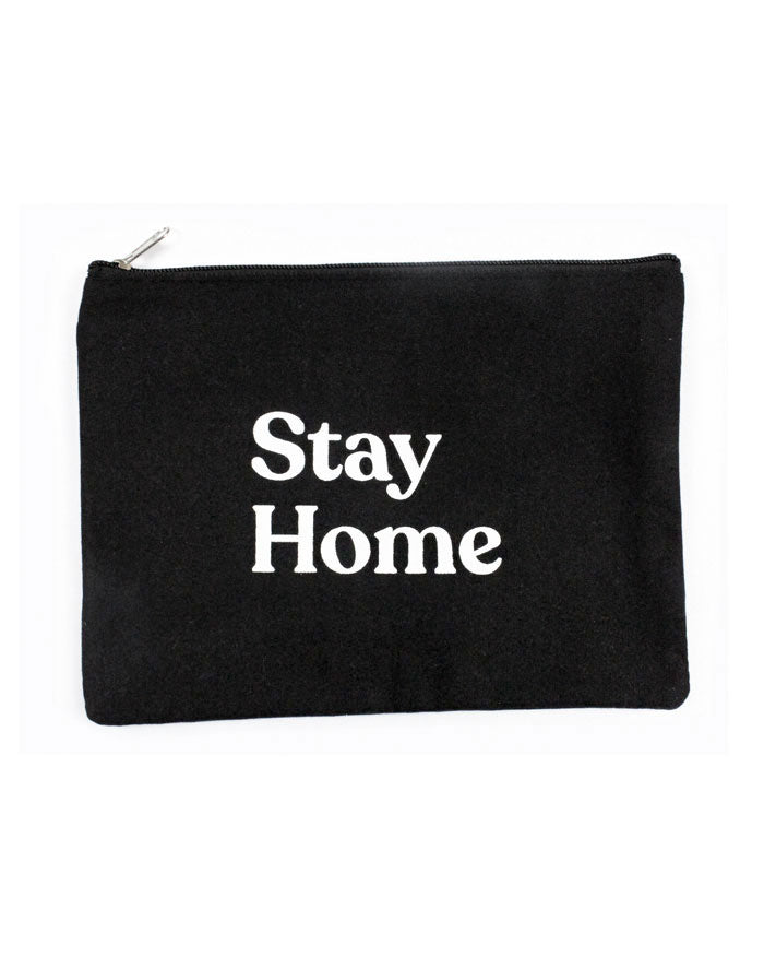 Stay Home Zip Pouch-Stay Home Club-Strange Ways