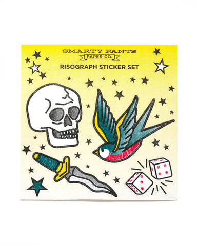 Tattoo Flash Sticker Sheet
