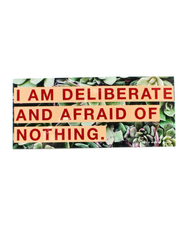 Audre Lorde Deliberate Sticker