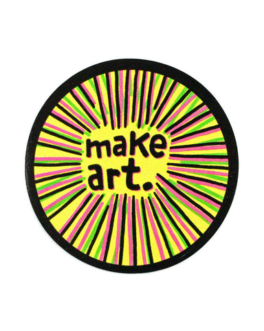 Make Art Sticker
