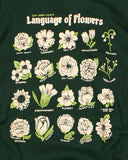 Language Of Flowers Unisex Crewneck Sweatshirt-Stay Home Club-Strange Ways