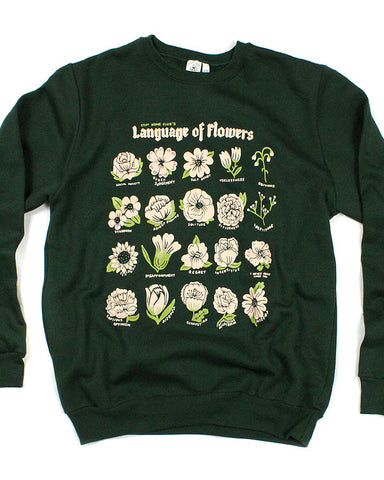 Language Of Flowers Unisex Crewneck Sweatshirt