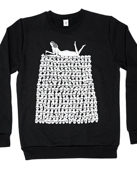 Nails Did Crew Neck Sweatshirt-Stay Home Club-Strange Ways