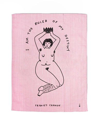 Ruler Of My Destiny Tapestry Tea Towel
