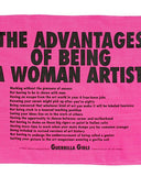 Advantages Of Being A Woman Artist Tapestry Tea Towel-Third Drawer Down-Strange Ways