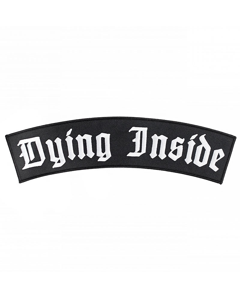 Dying Inside Large Back Patch-Inner Decay-Strange Ways