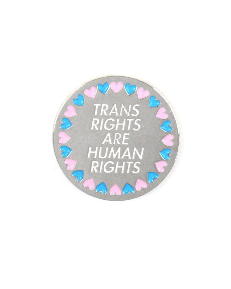Trans Rights Are Human Rights Lapel Pin-A Shop Of Things-Strange Ways