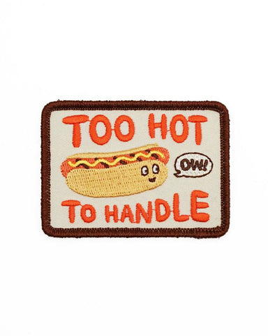 Too Hot To Handle Hot Dog Patch