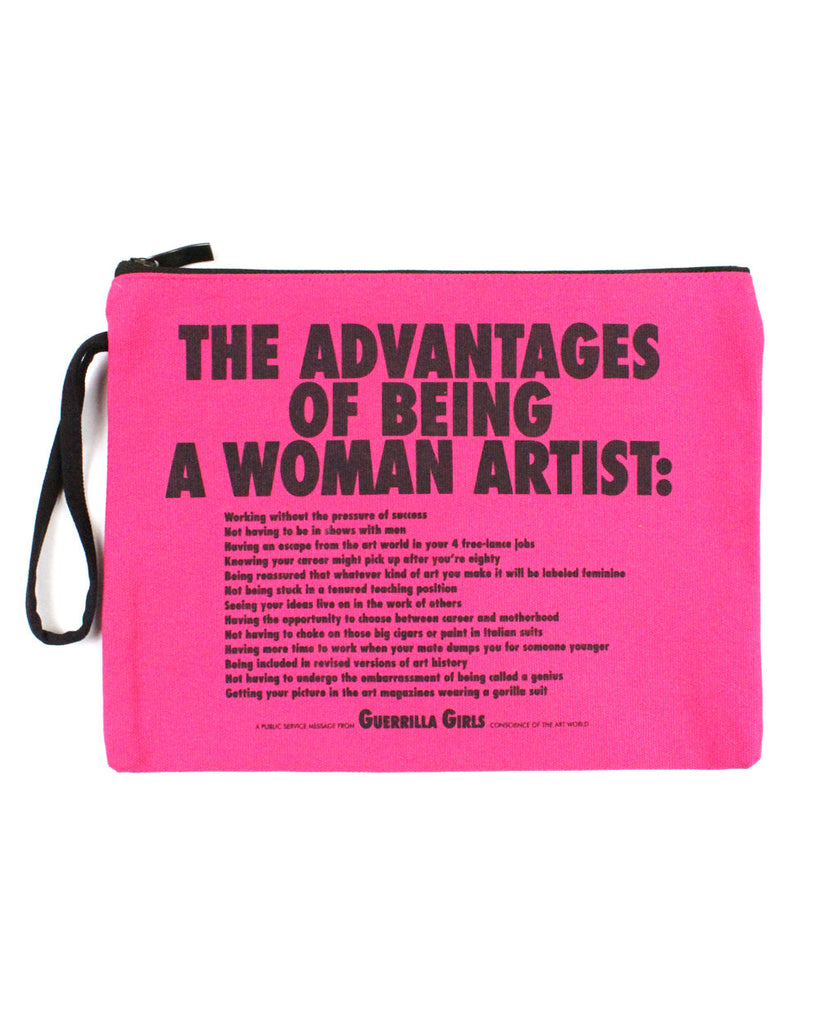 Advantages Of Being A Woman Artist Zip Pouch-Third Drawer Down-Strange Ways