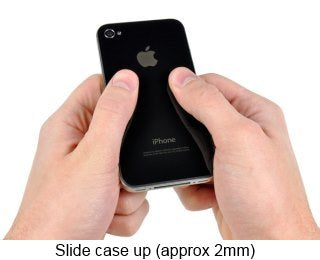 How to replace iPhone 4 housing case