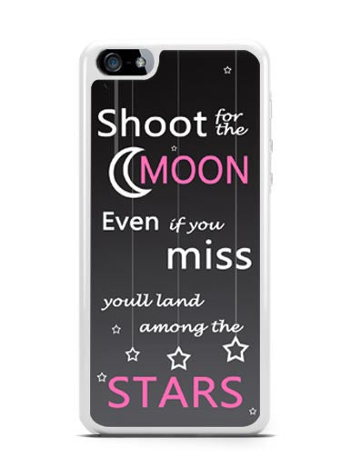 iPhone : 4s : 5 : 5c : 6 plus : Cases : Covers : shoot for the moon ...