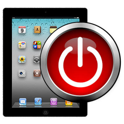 how to turn on ipad with broken power button