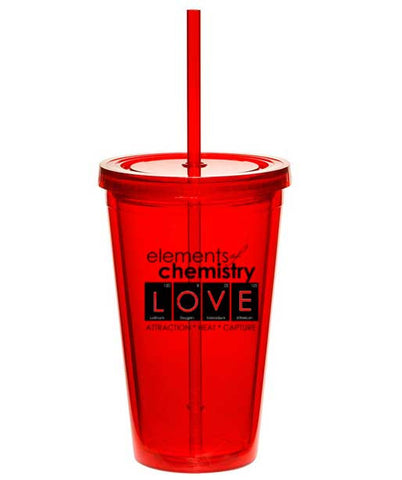 "CUP Hypothesis Series: Elements of Chemistry ""LOVE"" tumbler"