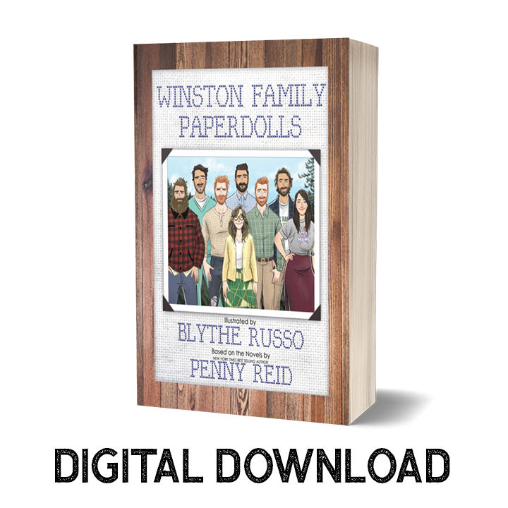 EBOOK Winston Family Paperdoll Book (DIGITAL PDF DOWNLOAD ONLY)