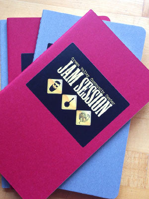 NOTEBOOK WB: Jam Session Notebook (Cranberry)