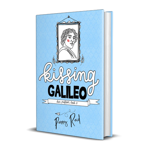 BOOK Dear Professor 2: Kissing Galileo - Signed