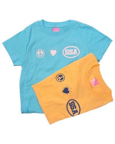 Peace, Love SSA Crew T-Shirt
