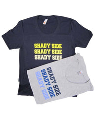 Shady Side x3 Scoop Neck T-Shirt