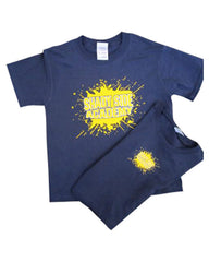 SSA Paint Splatter Crew T-Shirt