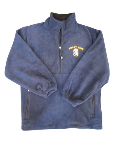 Fleece Quarter-Zip Pullover, Youth