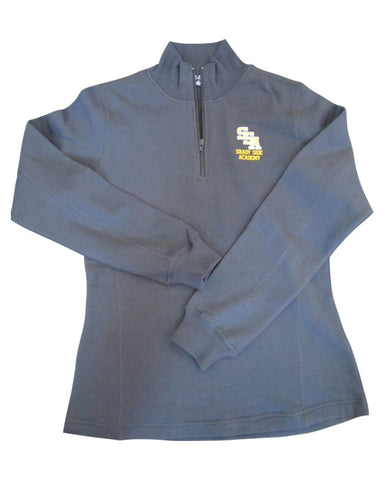 SSA Ladies Cotton 1/4 Zip Pullover