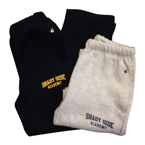 Open-Leg Sweatpants with Pockets