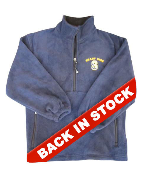Youth Fleece Quarter-Zip Pullover