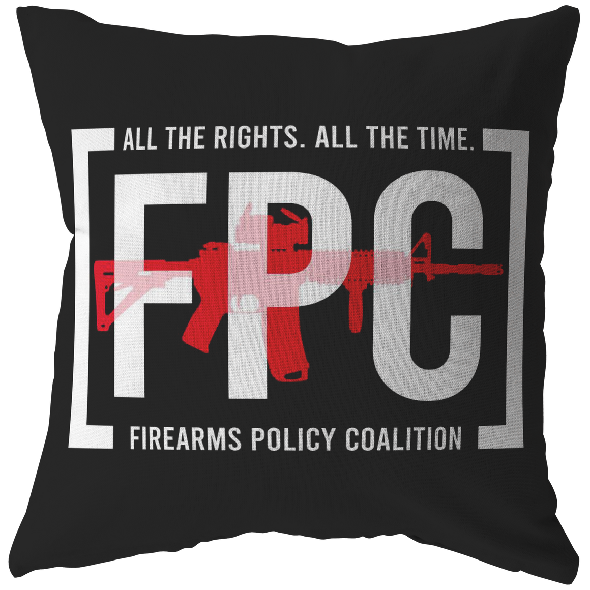 All the Rights, All the Time Pillow