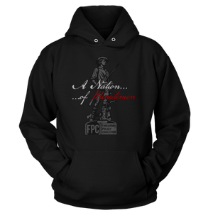 """A Nation of Minutemen"" (Hoodie)"