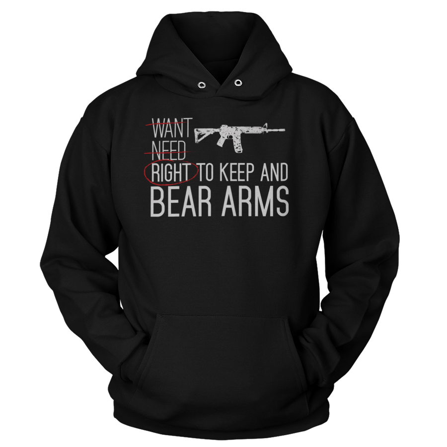 Right to Keep and Bear Arms (Hoodie)
