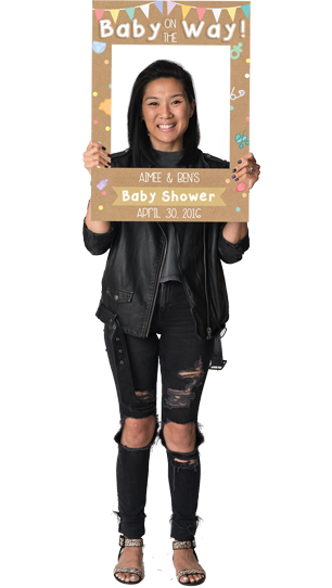 Baby Shower Custom Photo Prop  , CrowdSigns - 1