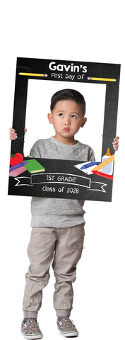 Back2School Custom Photo Prop  , CrowdSigns - 1