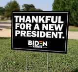 Biden Harris: Thankful