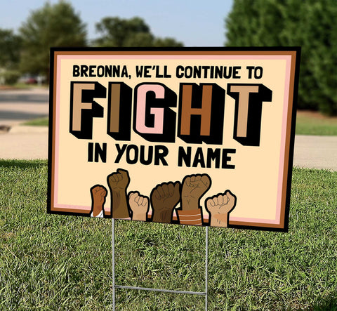 Breonna - We'll Continue to Fight